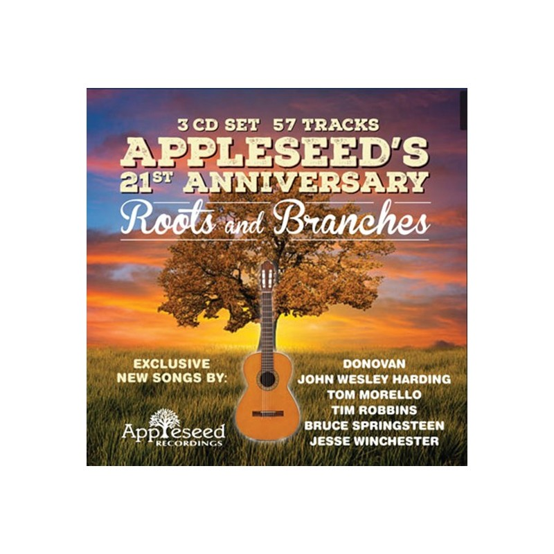 Appleseed's 21st Anniversary: Roots and Branches (3-CD)