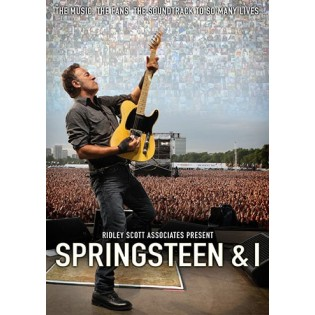 SPRINGSTEEN AND I (2013) DVD